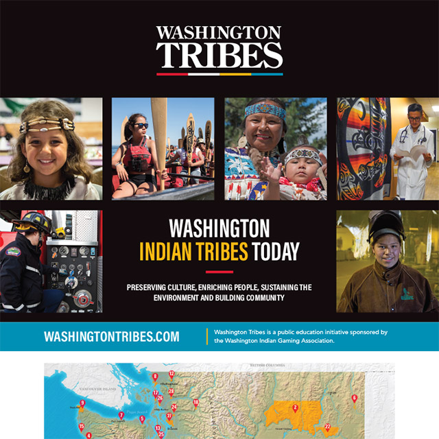 Washington Indian Tribes Today cover