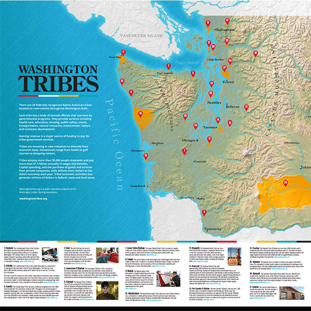 Washington Tribes Map