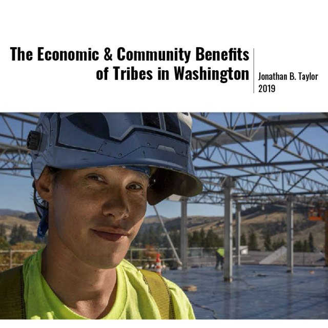 The Economic & Community Benefits of Tribes in Washington cover